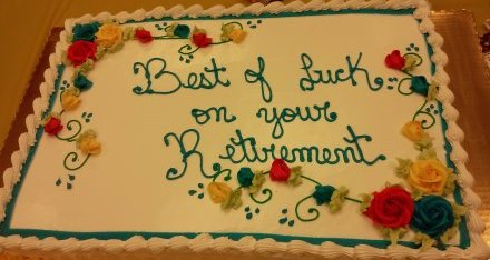 SSNE # 712 Hosted A Retirement Party For Richard, Who Has Worked For Stop And Shop For Over 42 Years.