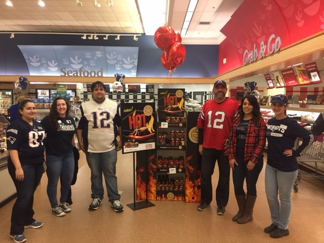 Store 473 Says GO PATRIOTS