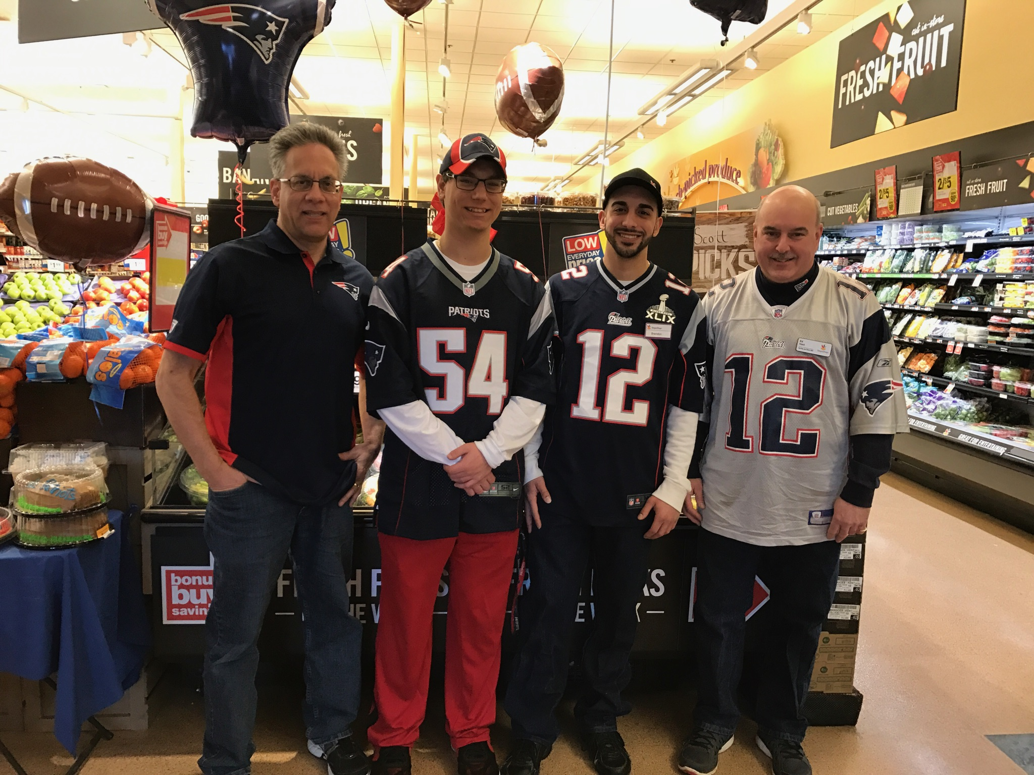 Patriots Nation At Store 701