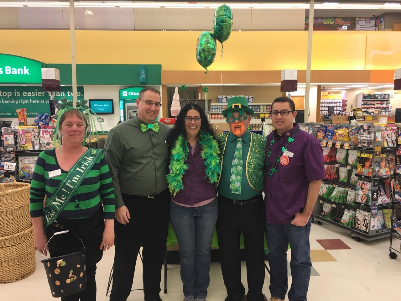 Happy St. Patrick's Day From Store 703