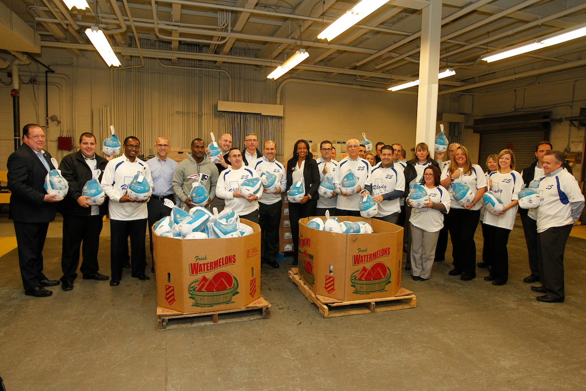 SSNE Turkey Express: Rhode Island Food Bank