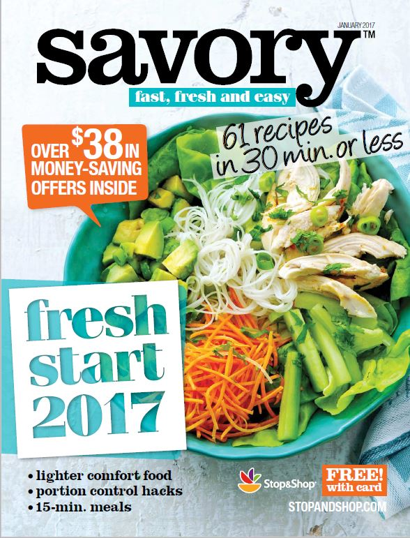 Making A Fresh Start? Take A Fresh New Look At Food With Savory Magazine