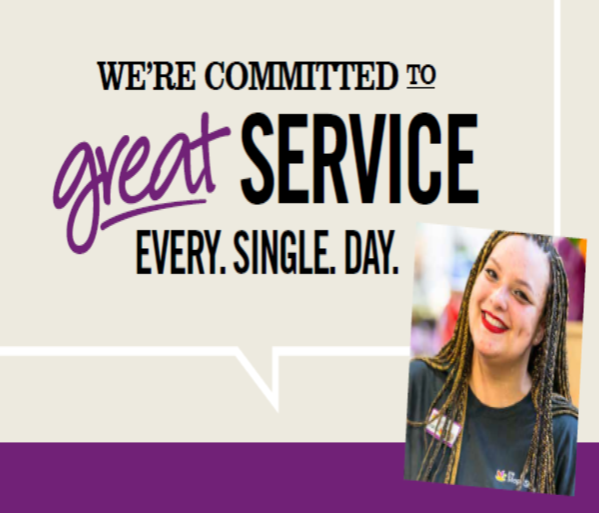 Our Service Promises Have Landed