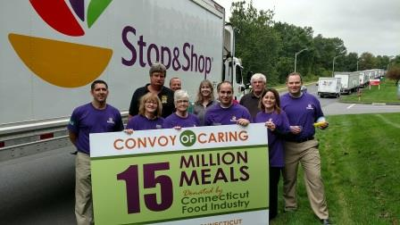 Stop & Shop In The Convoy Of Caring