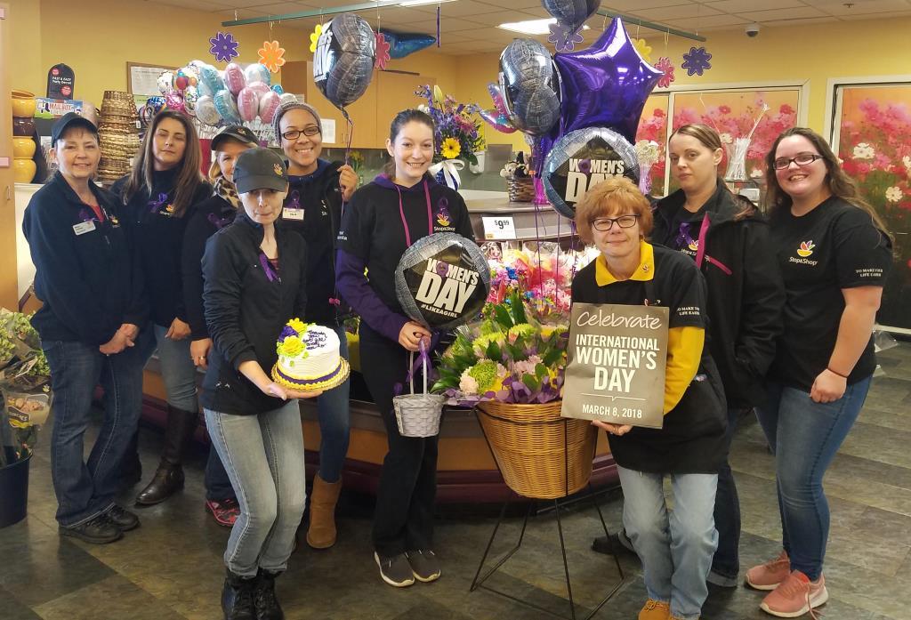 Associates At Store #707 Celebrating International Woman's Day.