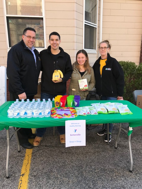 Store 498 (Somerville, MA) Took Part In A Healthy Idea Program At The Local YMCA. They Gave Out Nature's Promise Granola Bars And Stop & Shop Water. They Also Had Many Handouts And Healthy Ideas For People To Take Home!