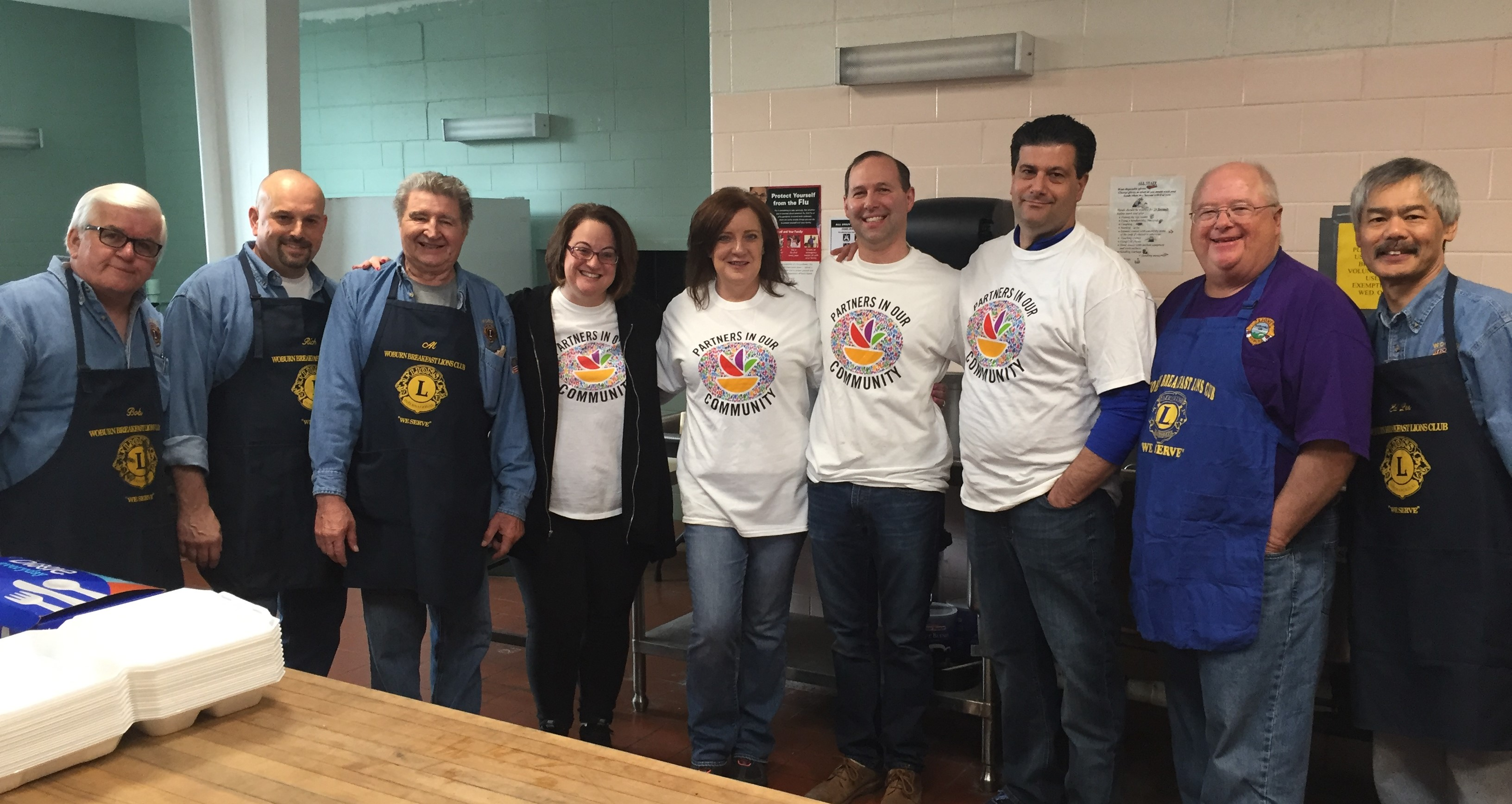 Store 96 Serves At Luncheon For Seniors In Woburn