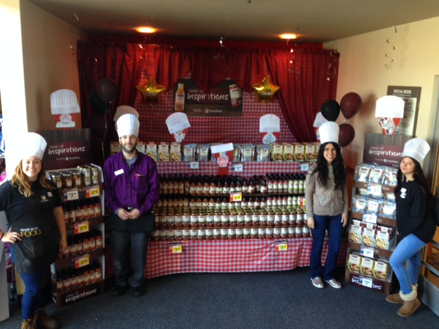 Store 815 Helps Introduce Taste Of Inspirations!