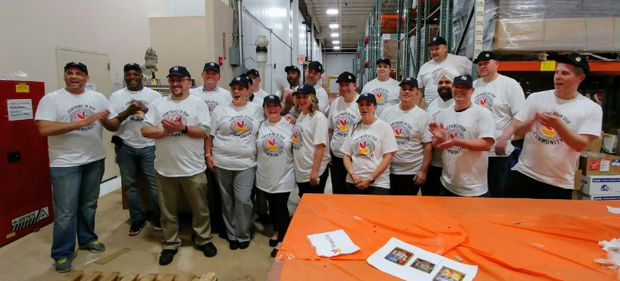 Central Market Competes In Golden Scoop For Those In Need