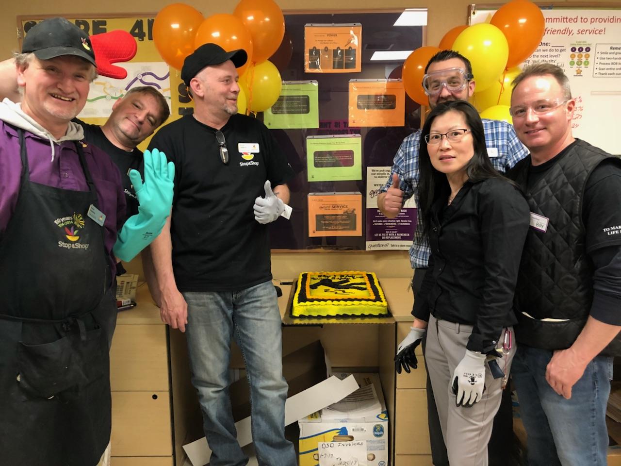 Store 413 Hyde Park Celebrating World Safety Day!