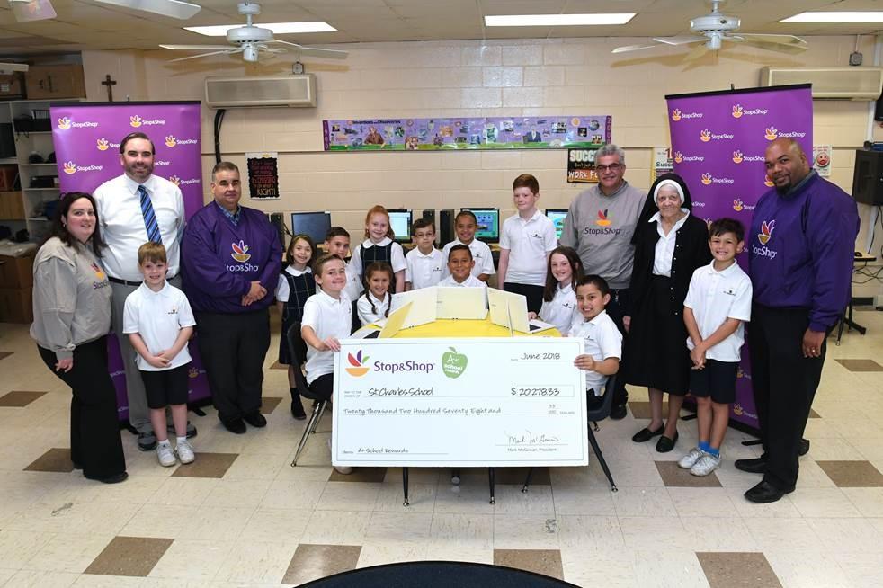 Staten Island School Receives Funds From Stop & Shop A+ School Rewards Program