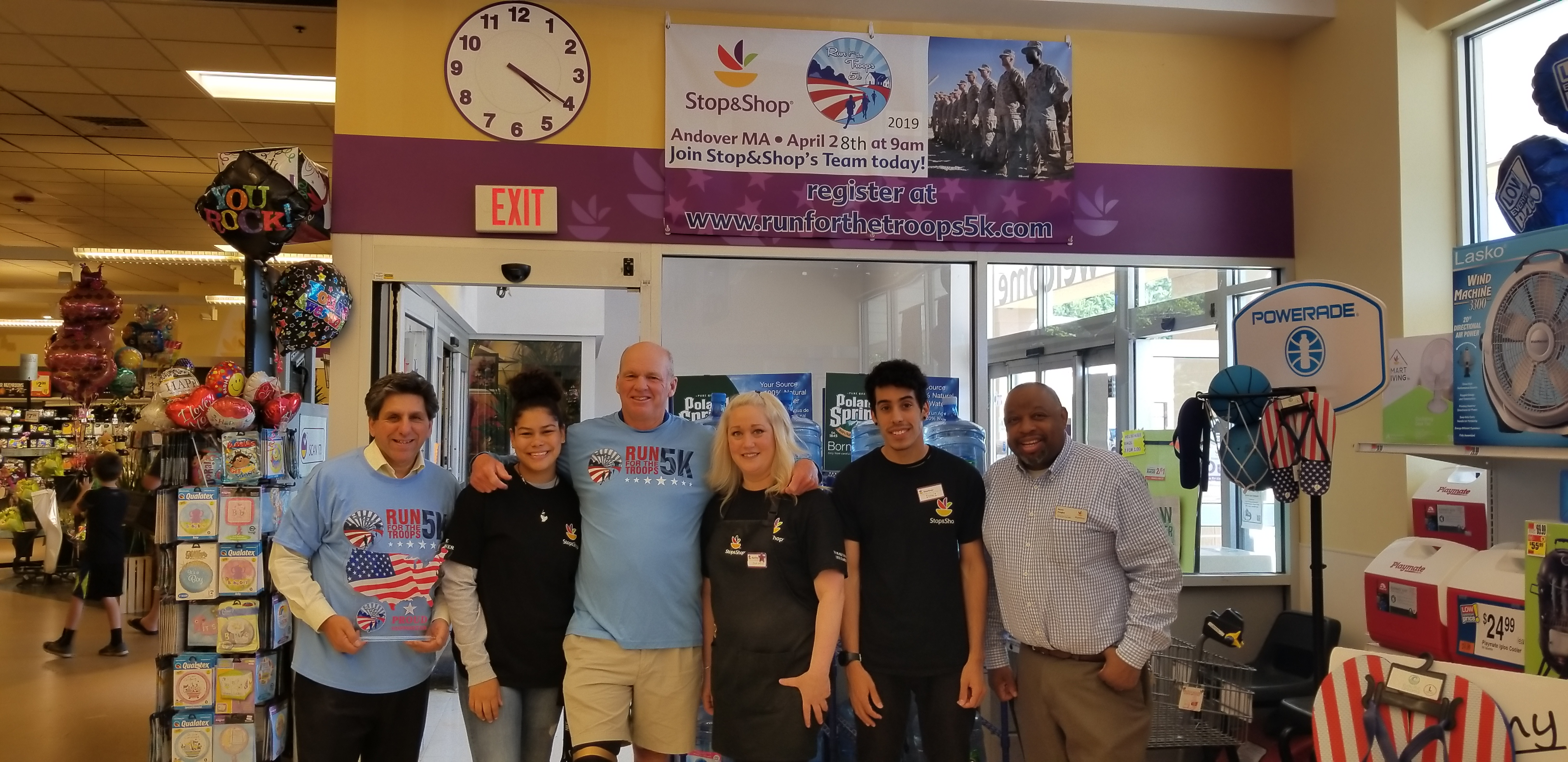 Stop & Shop Supports Run For Veterans