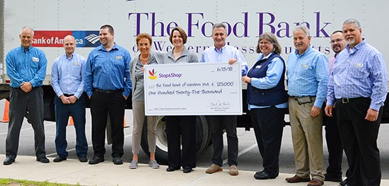 Food Bank Expands Thanks To Stop & Shop